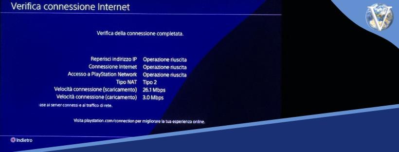 Verifica connessione Internet PS4 - Valcom Calabria