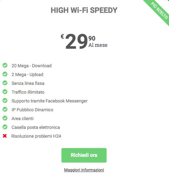 Abbonamento Internet Veloce 20 Mega - Valcom Calabria