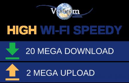 High Wi-Fi 20 Mega Aziende - Valcom Calabria