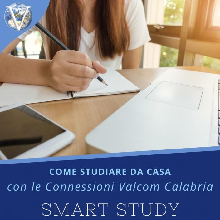 Smart Study: Come studiare da casa con le Connessioni Valcom - Valcom Calabria