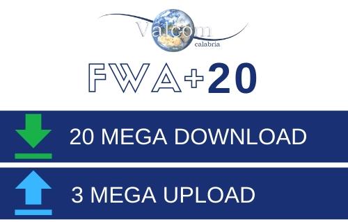 FWA+ 20 - Valcom Calabria