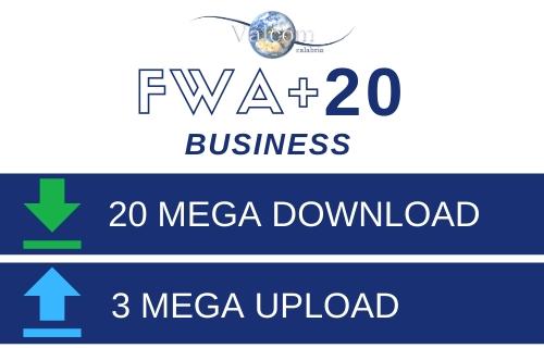 FWA+ 20 Business - Valcom Calabria