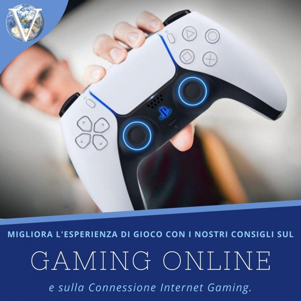 Connessione Internet per Gaming Online: come migliorare l'esperienza di gioco - Valcom Calabria