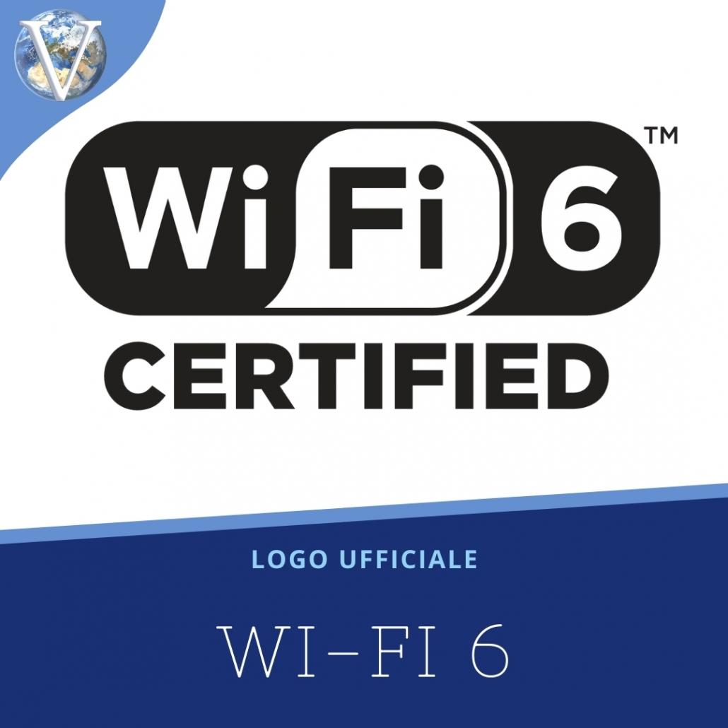 Logo Wi-Fi 6 - Valcom Calabria