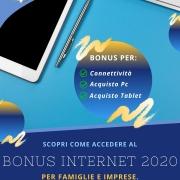 Bonus Internet 2020 per Famiglie e Imprese - Valcom Calabria
