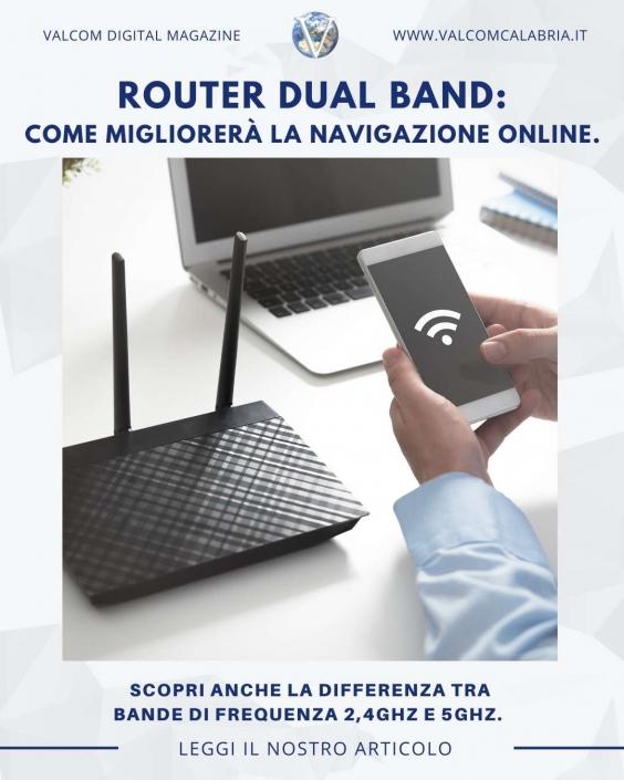 Valcom - Router Dual Band