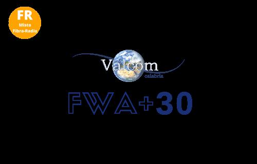 FWA Tabella prezzi Valcom Privati